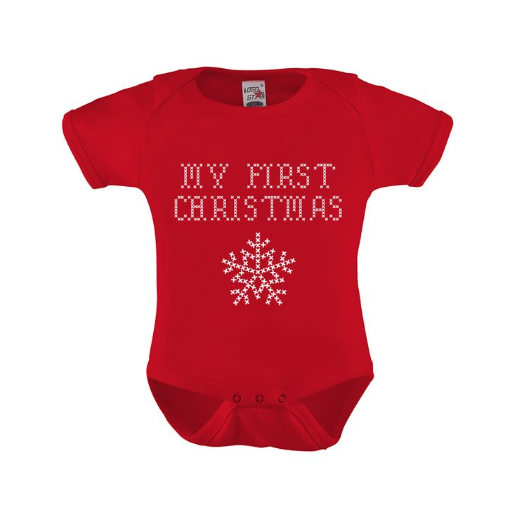 my first christmas kerst romper