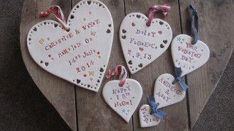 Jamali Annay ceramic hearts