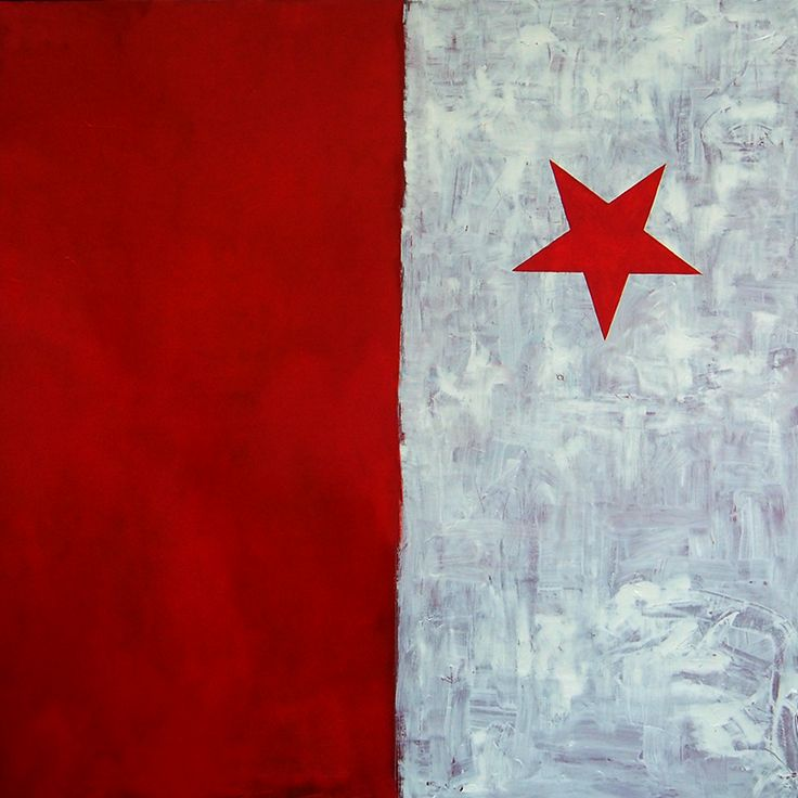 Slavie, Oil on canvas, 100x100 cm