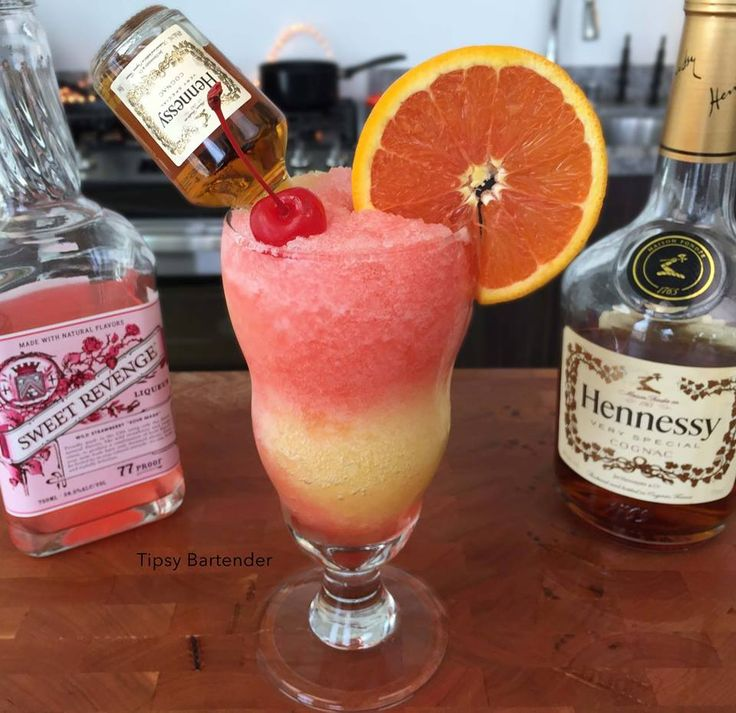 HENNYTHING IS POSSIBLE 1 1/2 oz. (45 ml) Hennessy 1 oz. (30 ml) Triple Sec 2… (valentines sweets maraschino cherries)