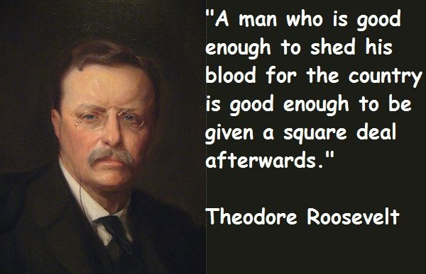 Famous Quotes : We Famous Theodore Roosevelt Quotes Wish Peace But ...