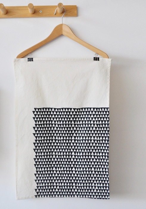 BOOKHOU Triangle Tea Towel
