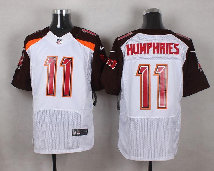 Men's NFL Tampa Bay Buccaneers #11 Adam Humphries White Elite Jersey