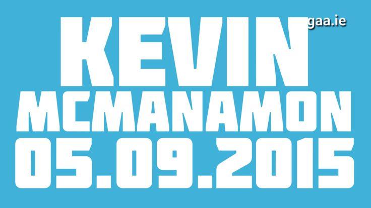 We Are Dublin GAA GREAT PLAYS: KEVIN McMANAMON - We Are Dublin