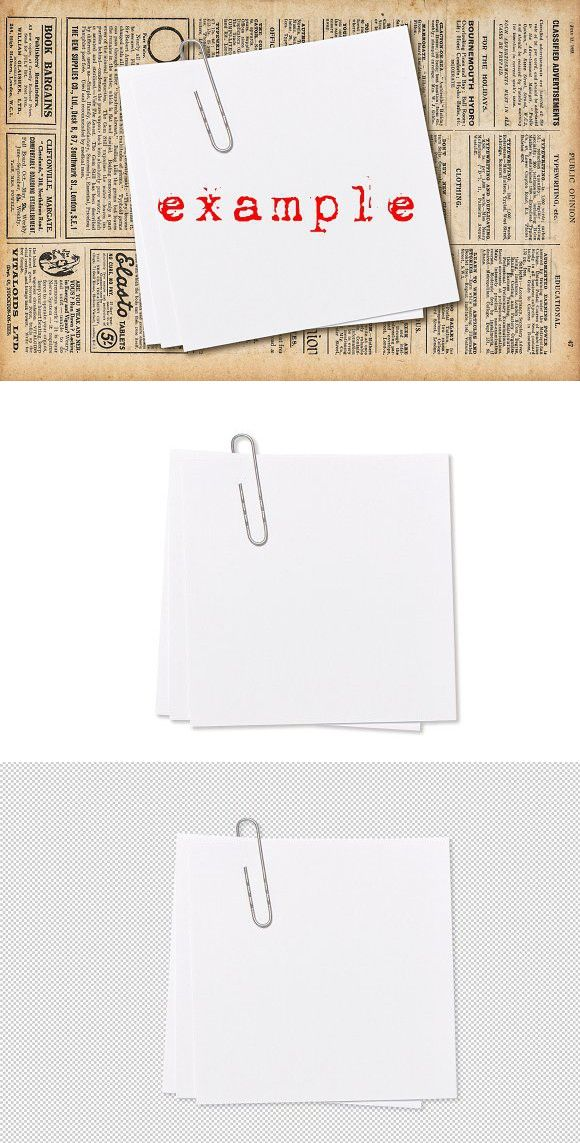 Empty Note Paper Paperclip Png Note Paper Paper Clip Paper