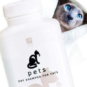 Shampoo a secco per gatti