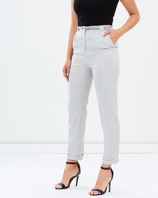 Buy Belted Peg Trousers by Oasis online at THE ICONIC. Free and fast delivery to Australia and New Zealand.