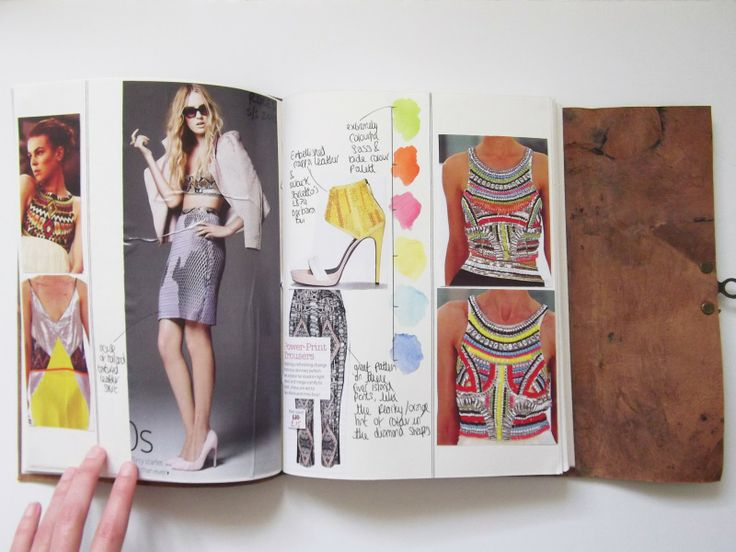 Life In Fashion blog: Sketchbook Pages