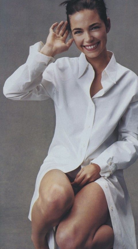 the white shirt vogue - Google Search