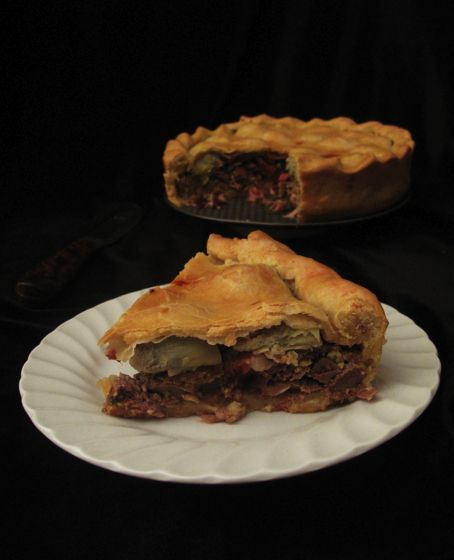 Pigeon Pie with Bacon and Artichoke Hearts | 10 Dishes From The Game Of Thrones Food Blog
