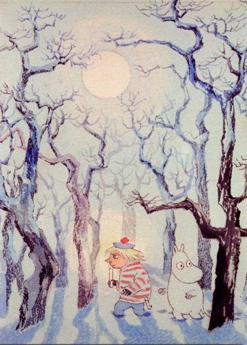 tove jansson moomintroll midwinter