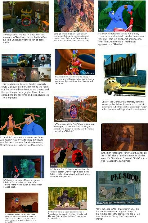 Best Hidden Disney Images On Pinterest The Ojays A Bugs - Pixar movies connected