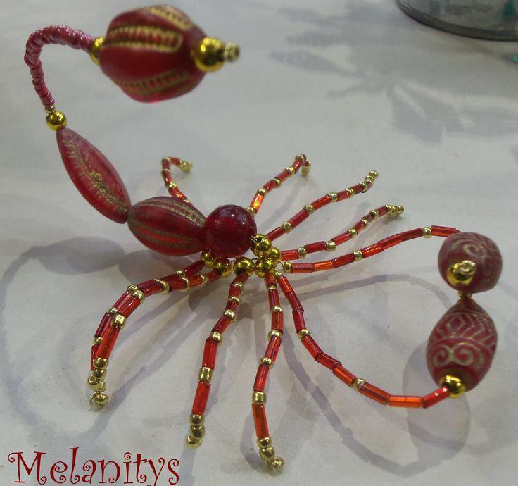 Scorpion en perles  #Scorpion #jenfiledesperlesetjassume #perles