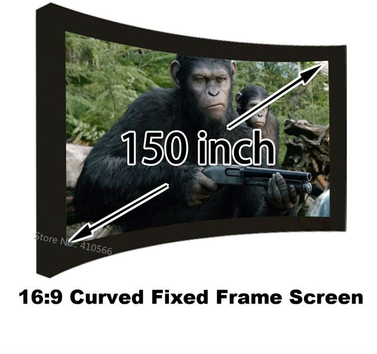 495.71$  Watch here - http://aliu4m.worldwells.pw/go.php?t=32649452023 - Top Quality Large Size 150Inch 16 To 9 Projector Screens Wall Mounted Embowed Projection Screen With Black Velevt Frame