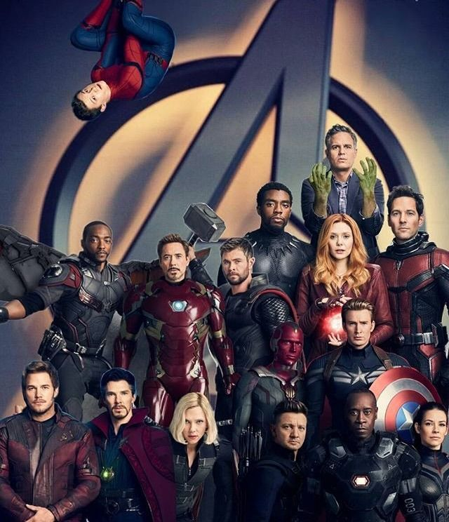 MARVEL FEED — THE AVENGERS! (Note that this is a fan edit....