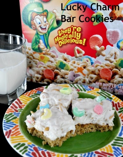 Lucky Charms Bar Cookies Recipe on TodaysMama.com
