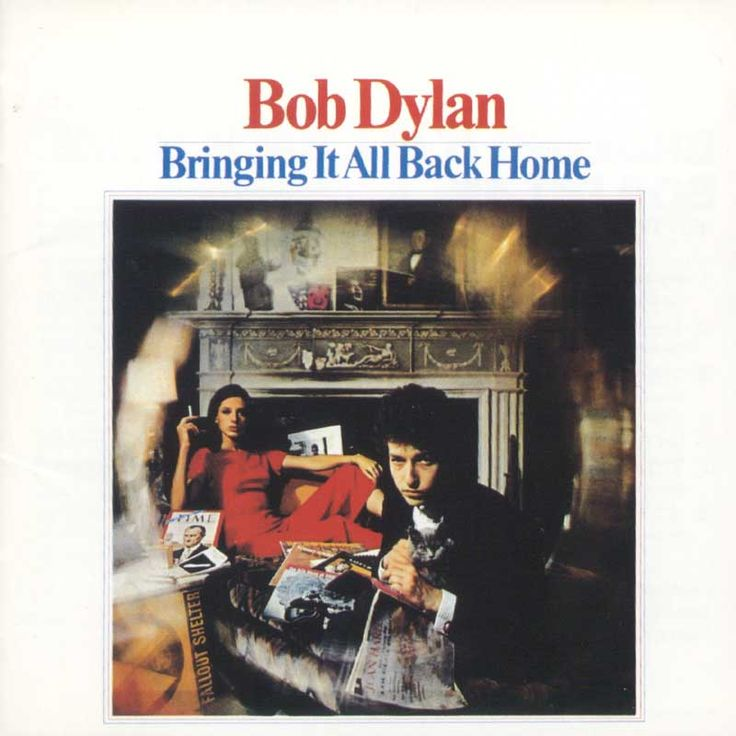 Bob Dylan Bringing It All Back Home Album Cover The