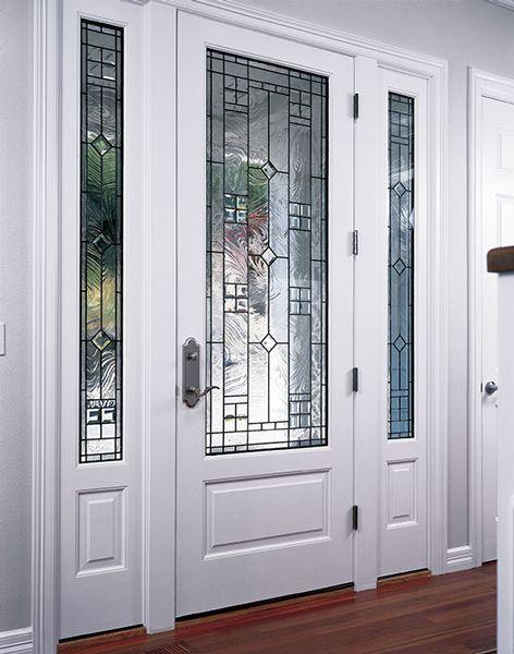 Best 25 exterior doors ideas on pinterest for White exterior double doors