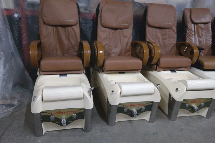 Used Valentino Full Function Massage Pedicure Spa Chair / Nail Salon