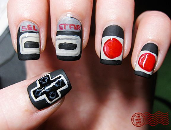 video game nail designs
