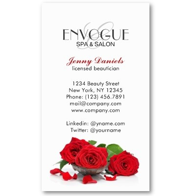 39 best images about salon spa business cards on for Abc beauty salon