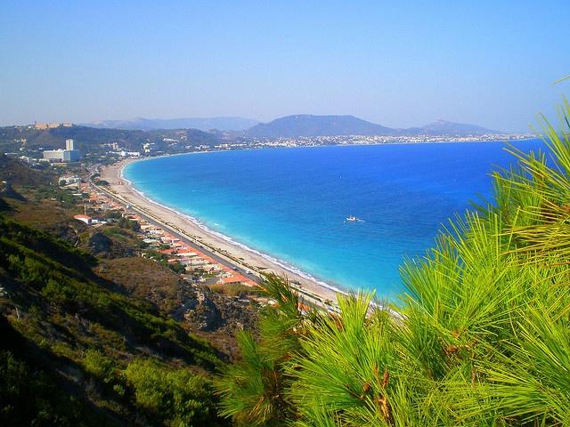 Ixia - Rhodes Greece.
