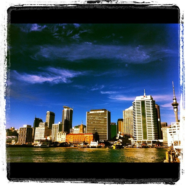 Auckland City from Princes Wharf