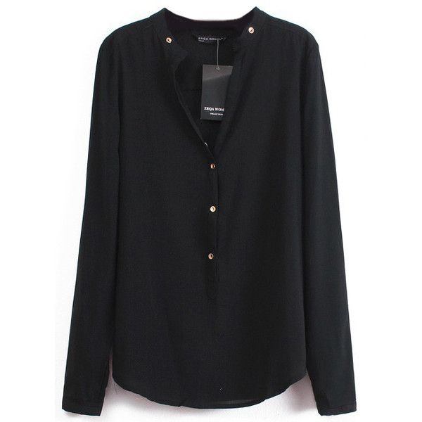 Best 25  Black chiffon blouse ideas on Pinterest | Peplum, Summer ...