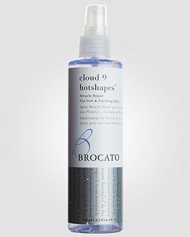 Brocato Спрей для защиты волос при использовании щипцов для завивки Hotshapes Miracle Repair Flat Iron & Curling. 250 мл.