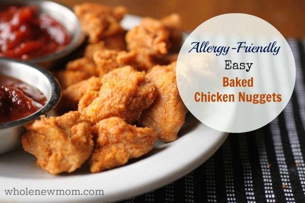 Easy Baked Chicken Nuggets - gluten-free | Recipe | Powder ...