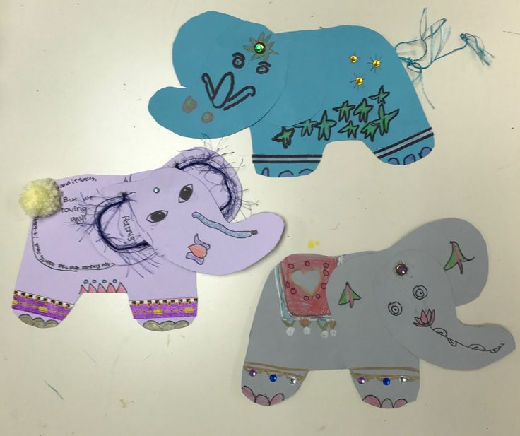 Painted Indian Elephant project