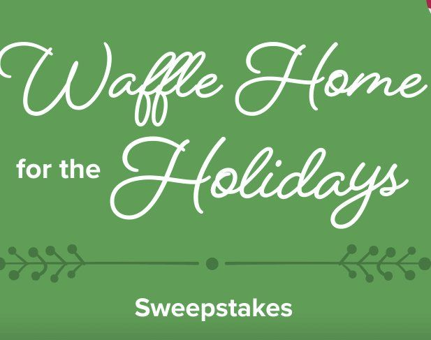 Grand Prize Is 1 300 00 In Two Airline Vouchers And A 500 Waffle House Gift Card Upload A Favorite Photo And T Holiday Sweepstakes House Gifts Waffle House