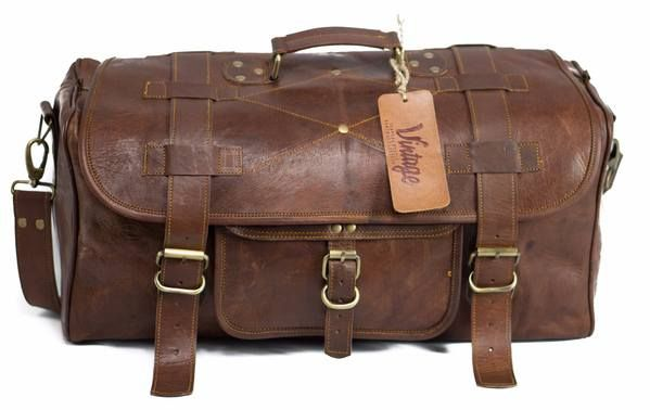 Grab Your Vintage Military Style High Quality Leather Duffle Bag.Free Shipping Australia Wide. Buy Now Pay Later Available With Afterpay and Zippay.