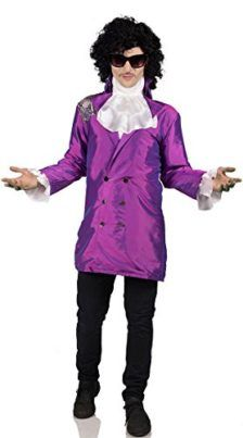 Mens Purple Pop Star Costume Mens Pop Star Costume Tag a friend who would look good in this! #PopStar #Halloween #Costume
