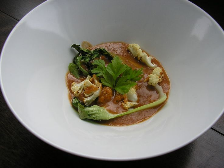 Vegetables with Indian-inspired butter sauce