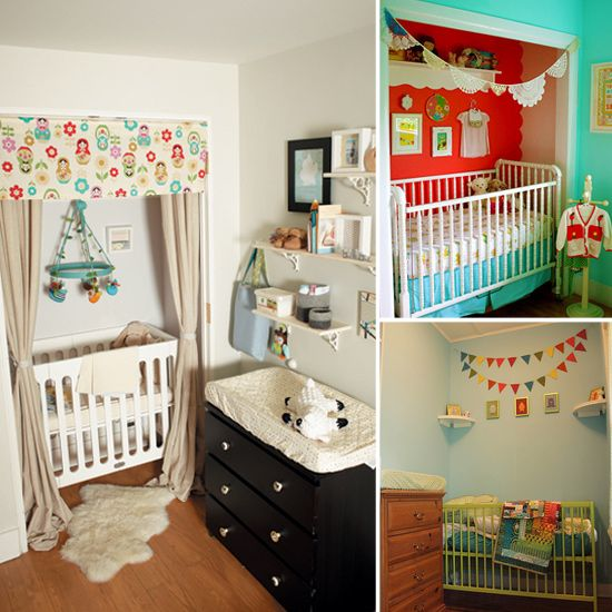 1000 ideas about crib in closet on pinterest cribs nurseries and nursery crib - Baby nursery ideas for small spaces style ...