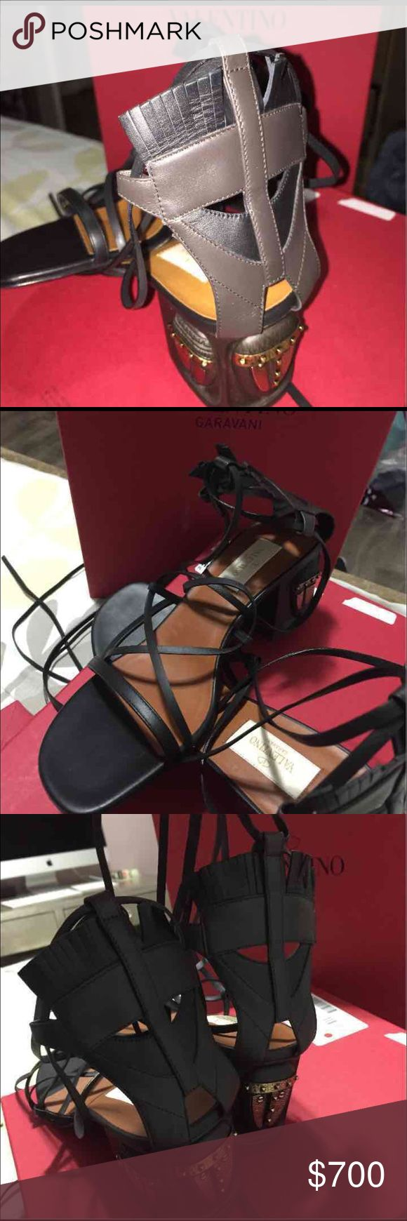 Valentino wedges Brand new limited edition Valentino wedges Valentino Shoes Wedges