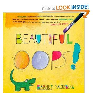 """Beautiful OOPS! Colorful and fun book about how an """"oops"""" can be turned into something beautiful. Awesome book for adults or kids (especially perfectionists).Book For Kids, Make Mistakes, Life Lessons, Beautiful Oops, Barneys Saltzberg, Art Book, Kids Book, Book Reviews, Children Book"""