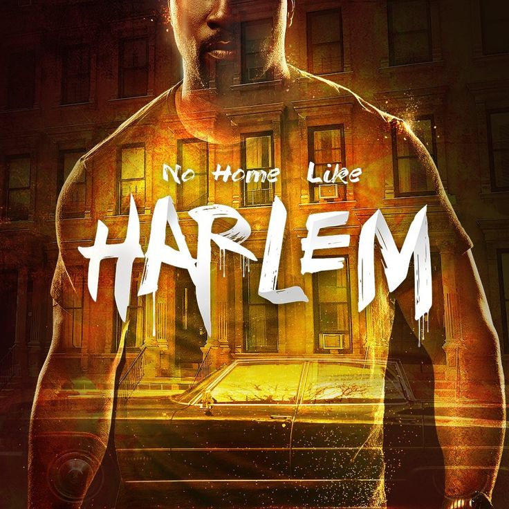 """No Home Like Harlem"" Luke Cage Poster from Netflix"