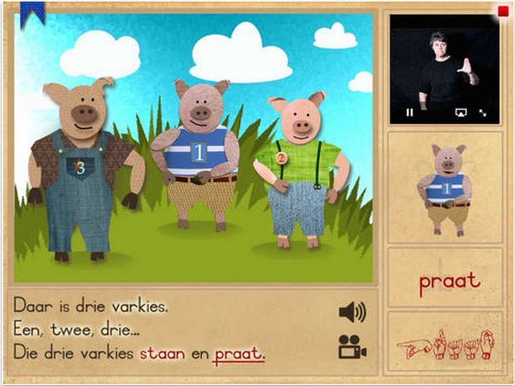 Die Drie Varkies (Luister, lees...) iPad App https://itunes.apple.com/za/app/die-drie-varkies/id642319043?mt=8&uo=4&at=1l3vuyN