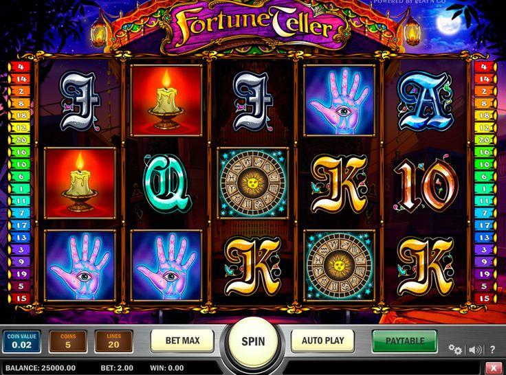 Fortuna ist wieder da! probiere den kostenlosen Fortune Teller #Spielautomat von #PlaynGo zu spielen!