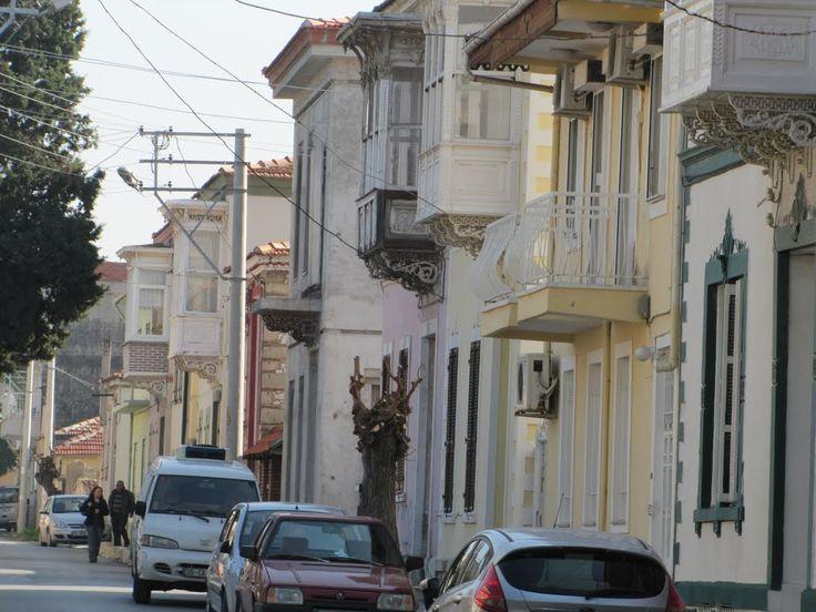 Eski Levanten evleri- Old Levantine houses - Izmir by Ibrahim Karadogan