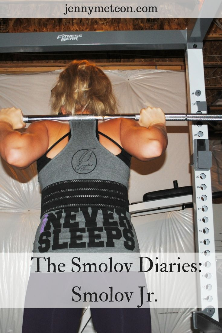 The Smolov Diaries: Smolov Jr. The Russian squat protocol that has helped lifters gain a tremendous amount of strength... but only if they can hang.  via @JennyMetCon