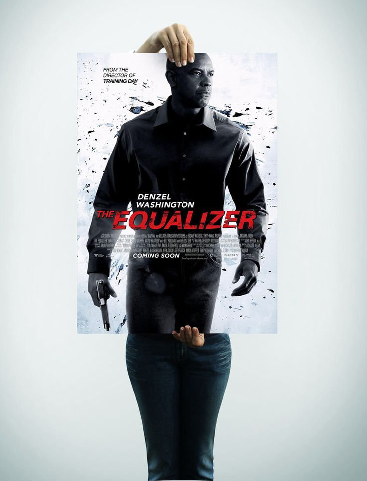 The Equalizer  Movie Poster  V1 24 x 36 #Handmade #PopArt