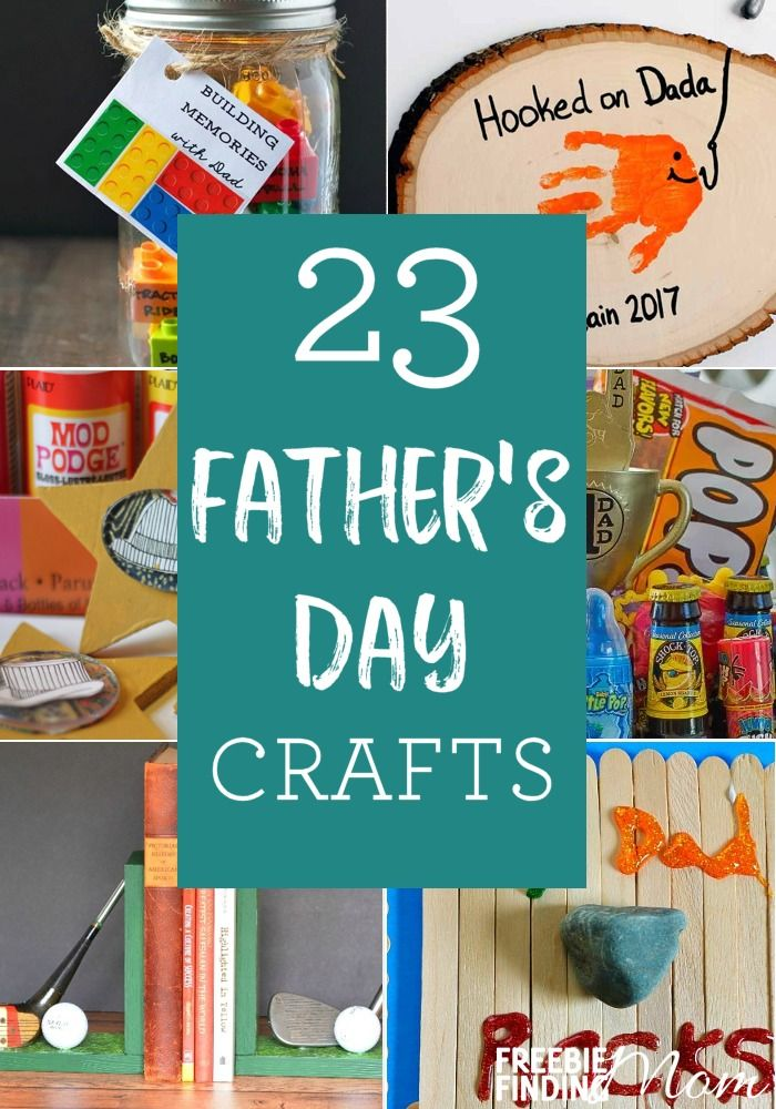 23 Craft Ideas For Father's Day