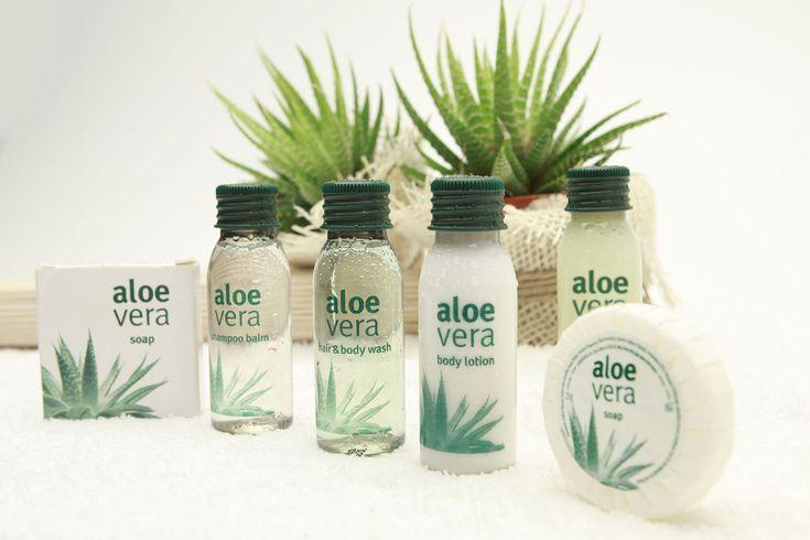 Aloe vera: la linea cortesia per hotel semplice e naturale | Allegrini Amenities