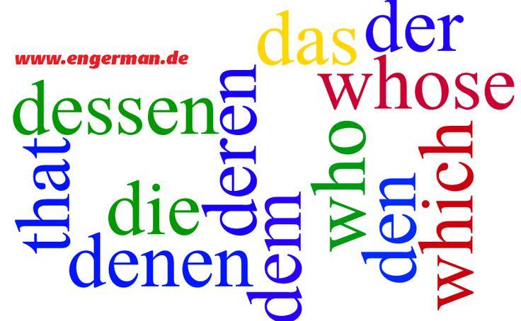 German Grammar - Relativpronomen / Relativsätze   L E A R N G E R M A N
