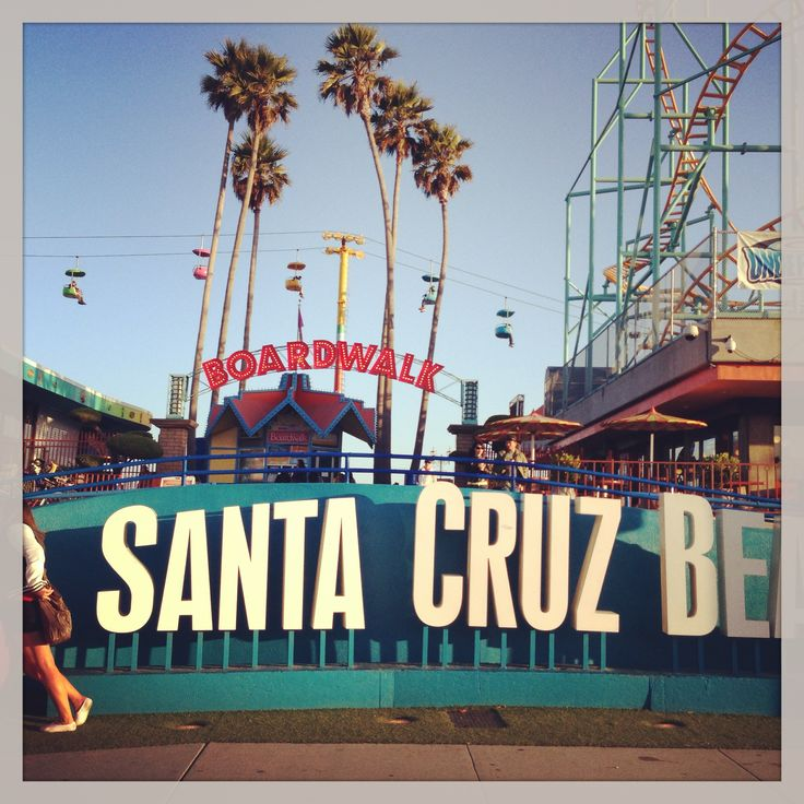 Santa Cruz Beach board walk! Amazing beach with great rides! Always something to do for everyone!