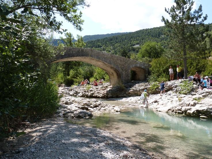 Le Toulourenc, Pont St-Léger, Vaucluse, Provence, France.2012