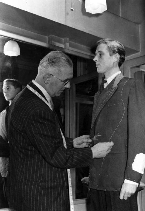 Bespoke tailor Anderson & Sheppard, Savile Row